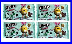 4-bags-M-amp-M-S-Chocolate-Candies-Coconut-Limited-Edition-11-4-oz-each-NEW-amp-fresh