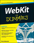 WebKit For Dummies by Chris Minnick (Paperback, 2012)