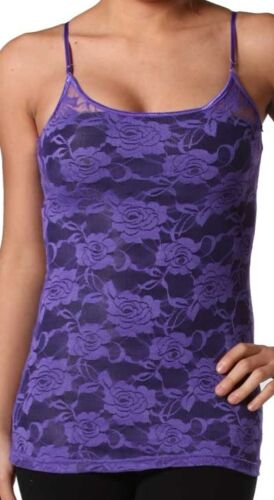 6 Colors *As Selected* Lace Sleeveless Cami Top XS//S//M//L