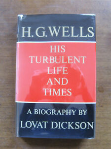 a biography of the life and times of herbert george wells Biography family life born in england in 1866 as herbert george wells, little wells first discovered his passion for reading and writing when an accident at age seven left him bedridden for an extended period of time his father, a professional cricketer, brought his son books from the local library unfortunately, money was.