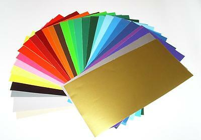 "12"" x 24"" Glossy Adhesive Backed Craft Vinyl for Cricket, Cameo, cutters, etc..."