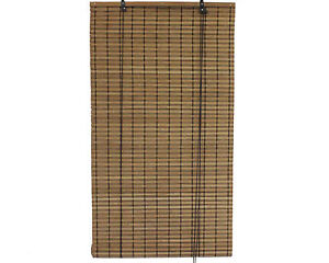 3-x-8-36-x-96-Brown-Bamboo-Slat-Roll-Up-Blinds-Window-Shades-Screen
