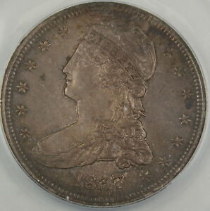 1837-Capped-Bust-Silver-Half-Dollar-ANACS-AU-50-Better-Coin