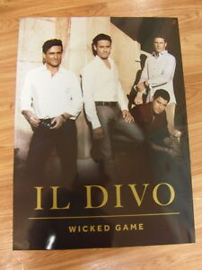 Il divo wicked game original poster 2 sided new ebay for Il divo wicked game