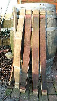 Faßdaube SCHMAL 3-4 cm breit ,88 cm lang,Stab,Weinfaß,Faß,Eiche,Deko,Kellerbar,