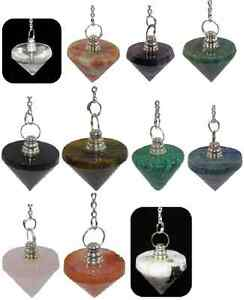 BEAUTIFUL-CONICAL-PYRAMID-CRYSTAL-PENDULUM-25MM-VARIOUS-ONES-TO-CHOOSE-FROM