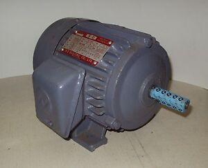 1 2 hp 230 460 volt 3 phase motor for 1 4 hp 3 phase motor