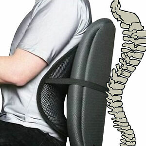 Cool-Vent-Mesh-Back-Lumber-Support-For-Car-Office-Chair-Auto-Truck-Seat-etc