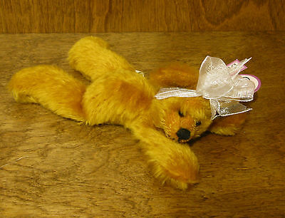 "7"" Bear New/tag From Retail Store Luxuriant In Design Dolls & Bears Annette Funicello Annette Funicello Bear Co #88087 Golden Brown"