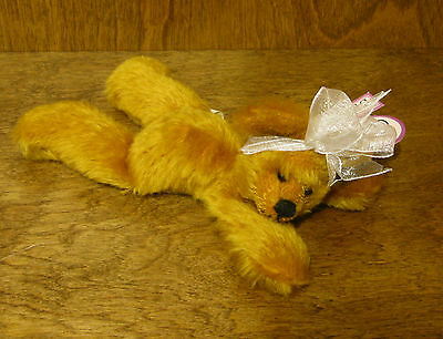 "Annette Funicello 7"" Bear New/tag From Retail Store Luxuriant In Design Annette Funicello Bear Co #88087 Golden Brown"