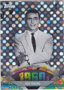 TWILIGHT-ZONE-TOPPS-2011-AMERICAN-PIE-SPOTLIGHT-ROD-SERLING-RARE-REFRACTOR-69-76