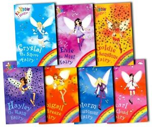 Rainbow-Magic-Weather-Fairies-Collection-Daisy-Meadows-7-Books-Set-8-to-14-New