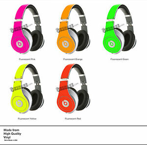 PINK-NEON-SKIN-KIT-for-Monster-Beats-by-Dr-Dre-Studio-Headphones