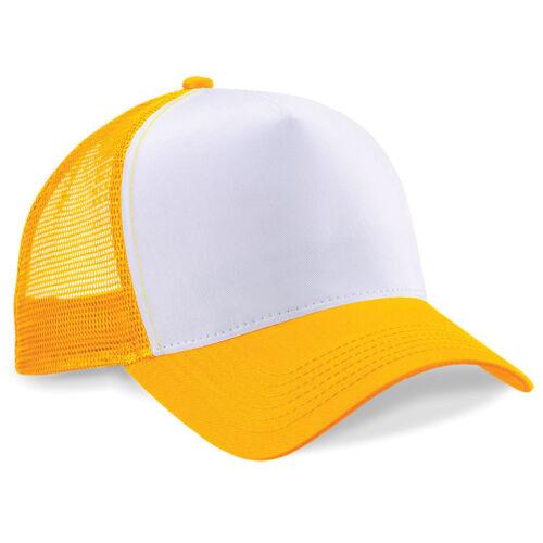 Half Mesh Trucker Hat Sun Baseball Cap Retro Summer BC640