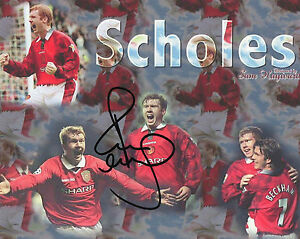 PAUL SCHOLES Signed 10x8 Photo MANCHESTER UNITED amp ENGLAND  COA - <span itemprop=availableAtOrFrom>barnsley, South Yorkshire, United Kingdom</span> - RETURNS ACCEPTED IF YOU ARE NOT FULLY SATISFIED WITH THE ITEM AND IT IS RETURNED IN THE SAME CONDITION IT IS RECEIVED. Most purchases from business sellers are protected - barnsley, South Yorkshire, United Kingdom