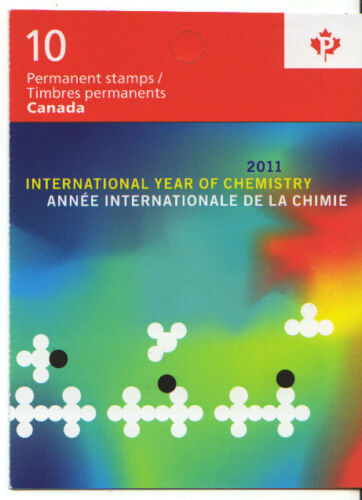 CANADA 2011 INTERNATIONAL YEAR OF CHEMISTRY BOOKLET MINT, MNH