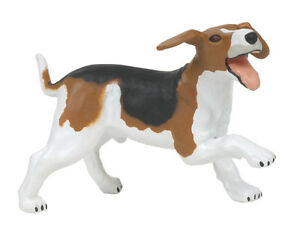 NEW-PAPO-51026-Beagle-Farm-Dog-Model-farm-animal-6cm-Tall
