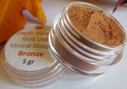Minerals EyeShadow Bare Pigments Cosmetics BRONZE