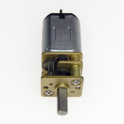 Dual Shaft 12mm Miniature DC Gearmotor 120RPM - Pack of 2