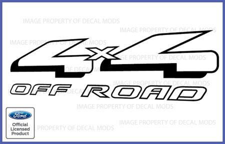 2006 Ford F150 4x4 Off Road Vinyl Decal Truck Sticker