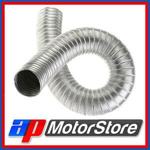 Alloy-Aluminium-Air-Ducting-Flexible-Heat-Resistant-Car-Engine-Hose-Pipe-Duct