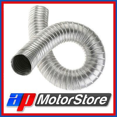Alloy Aluminium Air Ducting - Flexible Heat Resistant Car Engine Hose Pipe Duct