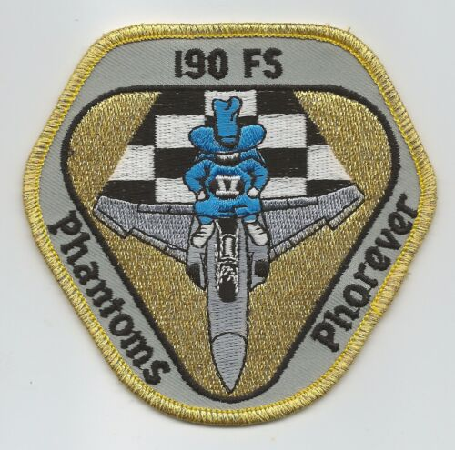 190th FIGHTER SQUADRON PHANTOMS PHOREVER patch