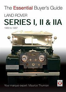 Land rover series i ii iia essential buyer s guide book ebay for Mercedes benz financial services lienholder address