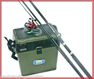 Float-Matct-Fishing-Rod-10-ft-amp-XLT-Match-3000-Reel-amp-Seat-Tackle-Box-amp-Line