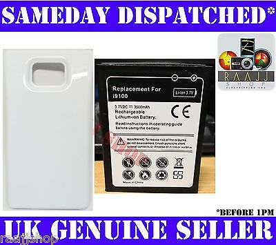 EXTENDED BATTERY FOR SAMSUNG GALAXY S 2 S2 3500mAh WITH BACK COVER 1YR WARRANTY