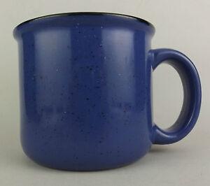 Marlboro-Unlimited-Mug-Blue-Black-Speckle-14-oz-Used-NICE