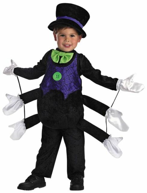 Itsy Bitsy Spider Insect Bug Animal Dress Up Halloween Toddler Child Costume