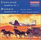 Copland: Symphony No. 3; Harris: Symphony No. 3 (1996)