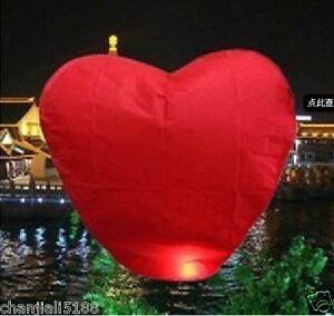 30PCS-Heart-shape-Christmas-gift-FIRE-SKY-CHINESE-LANTERNS-BIRTHDAY-WEDDING-A015