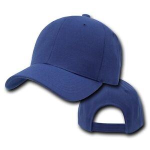 Navy Blue Blank Solid Adjustable Golf Tennis Baseball Ball ...