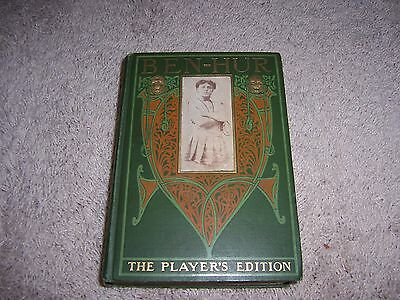 BEN - HUR by Lew Wallace (The Player's Edition)/HC/Literaure/Historical