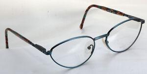 Eyeglass Frame Metal Vs Plastic : METAL EYEGLASSES FRAME WITH COLORFUL PLASTIC ARMS eBay