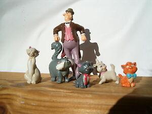6 figurines figures figuras figuren pvc kid'm aristocats 2 disney - France - État : Occasion: Objet ayant été utilisé. Consulter la description du vendeur pour avoir plus de détails sur les éventuelles imperfections. ... - France