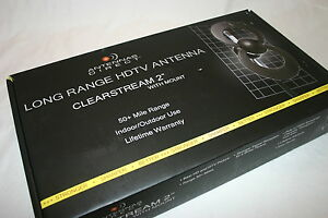 Antenna-Direct-Long-Range-HDTV-Antenna-Clearstream-2-with-Mount-C2-CJM-Free-Ship