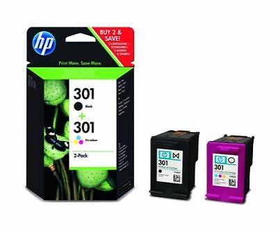 HP 301 Black HP301 Colour Ink For Deskjet 3050A 1050 2000 J310 J610 (CR340EE)