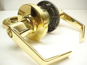 schlage al40s sat 605 bedroom bathroom privacy lock set brass t ebay