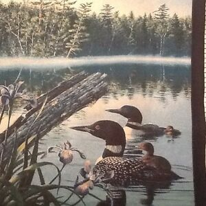Fine-Art-Tapestry-Black-Duck-Wall-Hanging