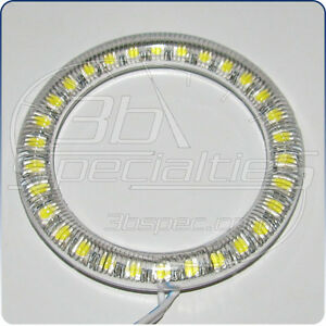LED-SMD-Angel-Eye-Halo-60mm-72mm-76mm-80mm-85mm-90mm-94mm-100mm-White-Red