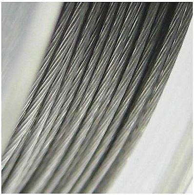 Schmuckdraht nylonummantelt versilbert Stärke 0,5mm Draht Schmuck Basteln
