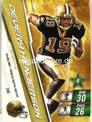 ADRENALYN xl NFL-La Nouvelle Orleans saints-carte choisir