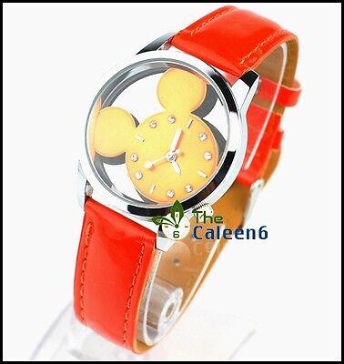 2014 New Cartoon Mickey Mouse Quartz Wrist Watch | Free Shipping Lovely Popular