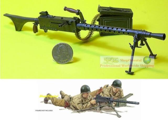 Timeless police militaire-M1919 machine gun 1//6 Scale-Gi Joe Action Figures