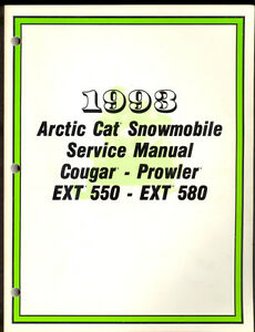 Arctic Cat Cougar  Manual