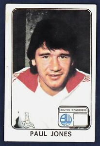 PANINI-FOOTBALL-79-065-BOLTON-WANDERERS-PAUL-JONES