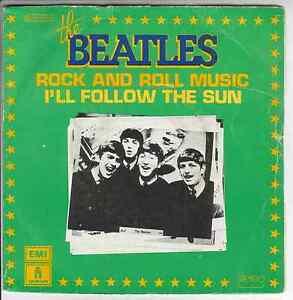 THE-BEATLES-Rock-and-Roll-Music-I-039-ll-follow-the-sun-7-034-Vinyl-Single